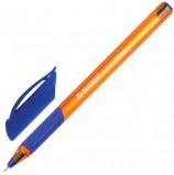 Ручка шариковая масляная BRAUBERG 'Extra Glide GT Tone Orange', СИНЯЯ, узел 0,7 мм, линия письма 0,35 мм, OBP144