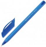 Ручка шариковая масляная BRAUBERG 'Extra Glide Tone', СИНЯЯ, трехгранная, узел 0,7 мм, линия письма 0,35 мм, OBP145