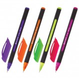 Ручка шариковая масляная BRAUBERG 'Extra Glide Soft Color', СИНЯЯ, узел 0,7 мм, линия письма 0,35 мм, OBP156