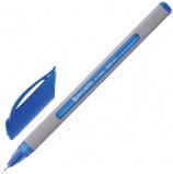 Ручка шариковая масляная BRAUBERG 'Extra Glide Soft Grey', СИНЯЯ, узел 0,7 мм, линия письма 0,35 мм, OBP157