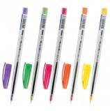 Ручка шариковая масляная BRAUBERG 'Ice', СИНЯЯ, детали ассорти, узел 0,6 мм, линия письма 0,3 мм, OBP108