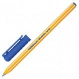 Ручка шариковая масляная PENSAN 'Officepen' 1010, СИНЯЯ, корпус оранжевый, узел 1 мм, 1010/60