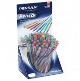 Ручка шариковая масляная PENSAN 'My-Tech Colored', палитра ярких цветов АССОРТИ, 0,5 мм, 2240/S60R-8