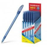 Ручка шариковая ERICH KRAUSE 'Neo Original', СИНЯЯ, корпус тонированный синий, 0,7 мм, линия письма 0,26 мм, 46515