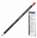 Маркер-карандаш сухой перманентный для любой поверхности STAEDTLER, КРАСНЫЙ, 4,5 мм, 108 20-2