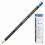 Маркер-карандаш сухой перманентный для любой поверхности STAEDTLER, СИНИЙ, 4,5 мм, 108 20-3