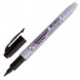 Маркер перманентный (нестираемый) CROWN 'Multi Marker Super Slim', ЧЕРНЫЙ, тонкий, 1 мм, P-505F