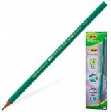 Карандаш чернографитный BIC, 1 шт., 'Evolution', HB, без резинки, пластиковый, корпус зеленый, заточенный, 8803112