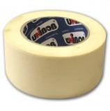 Клейкая лента малярная креппированная 50 мм х 50 м (реальная длина!), профессиональная, UNIBOB 28139