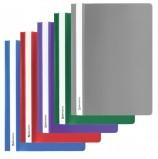 Скоросшиватель пластиковый BRAUBERG, А4, 130/180 мкм, ассорти, 221820