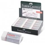 Резинка стирательная FABER-CASTELL 'Dust Free', прямоугольная, 41х18,5х11,5 мм, картонный держатель, 187130