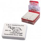 Резинка стирательная KOH-I-NOOR 'Слон', прямоугольная, 45х32х12 мм, белая, картонный дисплей, 0300020024KDRU