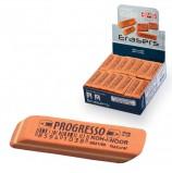 Резинка стирательная KOH-I-NOOR 'Progresso', прямоугольная, скошенные углы, 52х14х8 мм, оранжевая, картонный дисплей, 6821060002KDRU