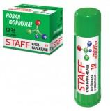 Клей-карандаш STAFF, 10 г, новая формула, Россия, 225000