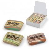 Резинка стирательная KOH-I-NOOR 'Magic', прямоугольная, 35x24x8 мм, разноцветная, ассорти, дисплей, 6516040001KD