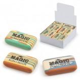 Резинка стирательная KOH-I-NOOR 'Magic', прямоугольная, 45x24x11 мм, разноцветная, ассорти, дисплей, 6516030001KD