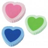 Резинка стирательная ПИФАГОР, 'Сердечко', 24x21x5 мм, цветная, фигурная, 226534