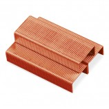 Скобы для степлера BRAUBERG, №24/6, 1000 штук, медное покрытие, в картонной коробке, до 30 листов, 227714