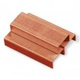 Скобы для степлера BRAUBERG, №10, 1000 штук, медное покрытие, в картонной коробке, до 20 листов, 227720