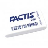 Резинка стирательная FACTIS 24 R (Испания), прямоугольная, 52х29х10 мм, синтетический каучук, CNF24R