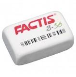 Резинка стирательная FACTIS S 36 (Испания), прямоугольная, 40х24х14 мм, мягкая, синтетический каучук, CNFS36