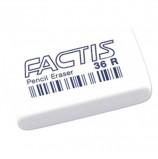Резинка стирательная FACTIS 36 R (Испания), прямоугольная, 40х24х9 мм, мягкая, синтетический каучук, CNF36RB