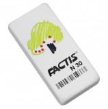 Резинка стирательная FACTIS N 30 (Испания), прямоугольная, 50х24х10 мм, синтетический каучук, CNFN30