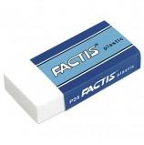 Резинка стирательная FACTIS Plastic P 24 (Испания), 50х24х10 мм, мягкая, картонный держатель, CPFP24