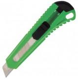 Нож канцелярский 18 мм BRAUBERG 'Classic', фиксатор, корпус ассорти, упаковка с европодвесом, 230917