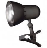 Светильник настольный 'Надежда-1 Мини', на прищепке, лампа накаливания/люминесцентная/светодиодная, до 40 Вт, черный, Е27