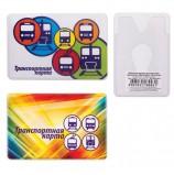 Обложка-карман для карт, пропусков 'Транспорт', 95х65 мм, ПВХ, полноцветный рисунок, дизайн ассорти, ДПС, 2802.ЯК.Т
