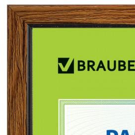 Рамка 10х15 см, пластик, багет 15 мм, BRAUBERG 'HIT', 5 цветов ассорти, стекло, подставка, 390022