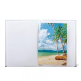 Фотоальбом BRAUBERG на 36 фото 10х15 см, мягкая обложка, 'Вид на океан', ассорти, 390651