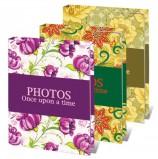Фотоальбом BRAUBERG на 36 фотографий 10х15 см, твердая обложка, 'Яркие узоры', ассорти, 390655