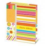 Фотоальбом BRAUBERG на 100 фотографий 10х15 см, твердая обложка, 'Абстракция', разноцветный, 390661