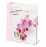 Фотоальбом BRAUBERG на 100 фотографий 10х15 см, твердая обложка, 'Орхидеи', бело-розовый, 390663