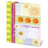Фотоальбом BRAUBERG на 200 фотографий 10х15 см, твердая обложка, 'Настроение', разноцветный, 390670