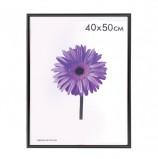 Рамка премиум 40х50 см, пластик, багет 13 мм, 'Maria', черная, 5052-16-1078
