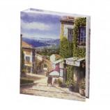 Фотоальбом BRAUBERG на 200 фото 10х15 см, твердая обложка, 'Улица Прованса', 391120