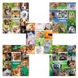 Тетрадь А5, 48 л., HATBER, скоба, клетка, обложка картон, 'ЖИВЫЕ ЭМОЦИИ' (5 видов в спайке), 48Т5В1, T242551
