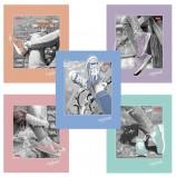 Тетрадь А5, 48 л., HATBER, скоба, клетка, обложка картон, 'ФАНТАЗИИ КАРАНДАШОМ' (5 видов в спайке), 48Т5В1, T280713
