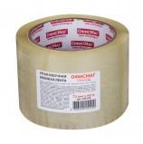 Клейкая лента упаковочная, 72 мм х 66 м, прозрачная, толщина 45 микрон, ОФИСМАГ, 440109