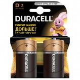 Батарейки DURACELL Basic, D (LR20, 13А), алкалиновые, КОМПЛЕКТ 2 шт., в блистере, MN 1300D LR20