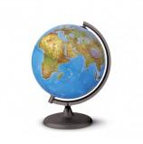Глобус физический/политический TECNODIDATTICA 'Orion' (Италия), диаметр 200 мм, с подсветкой, 0320ORRS0FI1G12