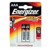 Батарейки ENERGIZER MAX, AAA (LR03, 24А), алкалиновые, КОМПЛЕКТ 2 шт., в блистере, E300157203