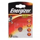 Батарейка ENERGIZER, CR 1620, литиевая, 1 шт., в блистере, E300844001