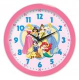 Часы настенные САЛЮТ П-Б1.1-359, круг, розовые с рисунком 'Принцессы', розовая рамка, 28х28х4 см