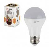 Лампа светодиодная ЭРА, 11 (100) Вт, цоколь E27, грушевидная, теплый белый свет, 25000 ч., LED, smdA60-10w-827-E27, Б0020532
