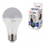 Лампа светодиодная ЭРА, 11 (100) Вт, цоколь E27, грушевидная, холодный белый свет, 30000 ч., LED smdA60-10w-840-E27, Б0020533