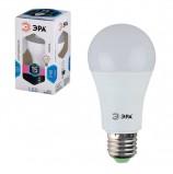 Лампа светодиодная ЭРА, 15 (130) Вт, цоколь E27, грушевидная, холодный белый свет, 25000 ч., LED smdA60-15w-840-E27, Б0020593